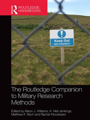 cover image of The Routledge Companion to Military Research Methods