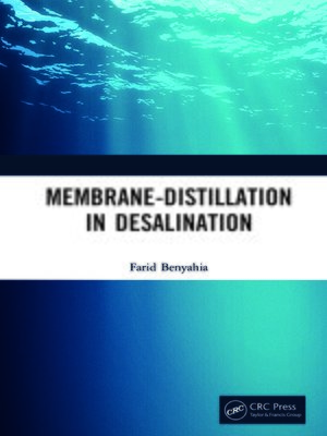 cover image of Membrane-Distillation in Desalination