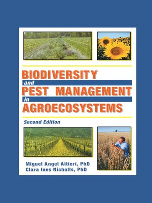cover image of Biodiversity and Pest Management in Agroecosystems