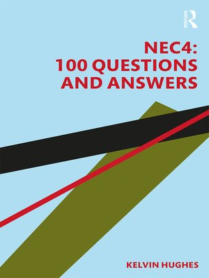 cover image of NEC4