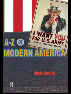 cover image of An A-Z of Modern America