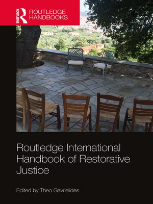 cover image of Routledge International Handbook of Restorative Justice