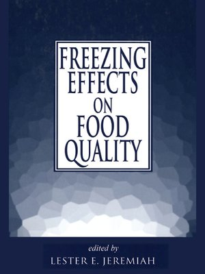 cover image of Freezing Effects on Food Quality