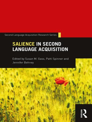 cover image of Salience in Second Language Acquisition