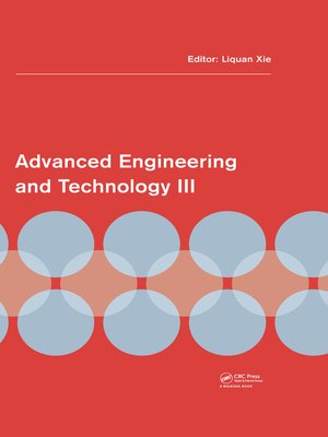 cover image of Advanced Engineering and Technology III