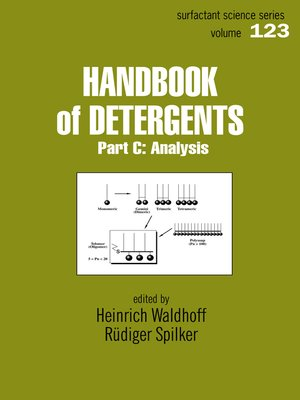 cover image of Handbook of Detergents, Part C