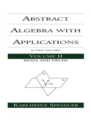 cover image of Abstract Algebra with Applications
