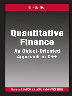 cover image of Quantitative Finance