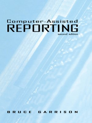 cover image of Computer-assisted Reporting