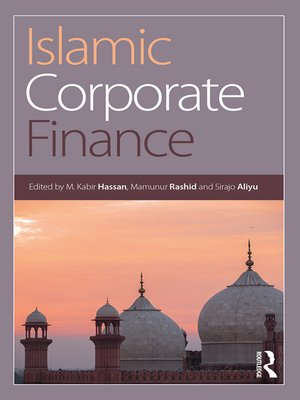 cover image of Islamic Corporate Finance