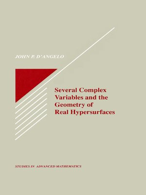 cover image of Several Complex Variables and the Geometry of Real Hypersurfaces