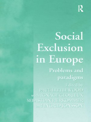 cover image of Social Exclusion in Europe