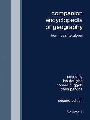 cover image of Companion Encyclopedia of Geography