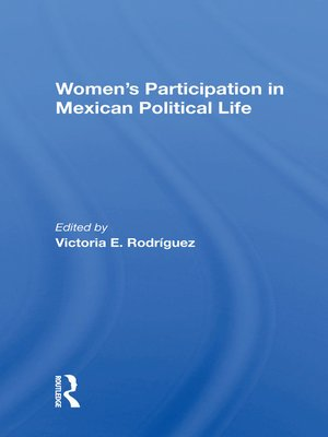 cover image of Women's Participation In Mexican Political Life