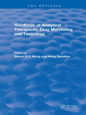 cover image of Handbook of Analytical Therapeutic Drug Monitoring and Toxicology (1996)