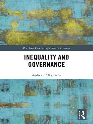 cover image of Inequality and Governance