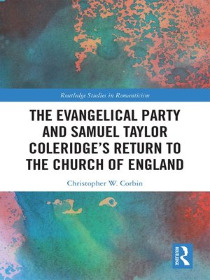 cover image of The Evangelical Party and Samuel Taylor Coleridge's Return to the Church of England