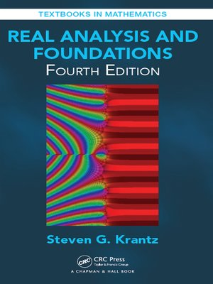 cover image of Real Analysis and Foundations