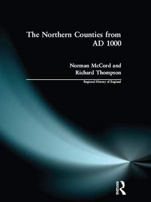 cover image of The Northern Counties from AD 1000