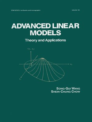 cover image of Advanced Linear Models