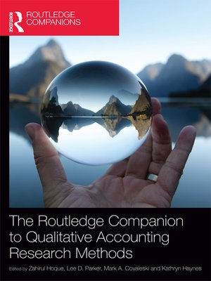 cover image of The Routledge Companion to Qualitative Accounting Research Methods