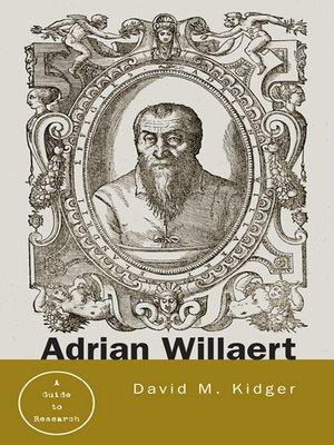 cover image of Adrian Willaert