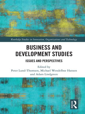 cover image of Business and Development Studies