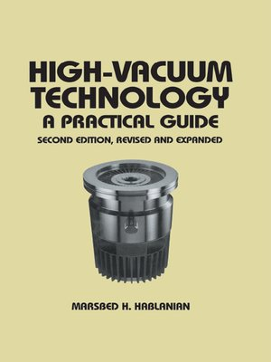 cover image of High-Vacuum Technology