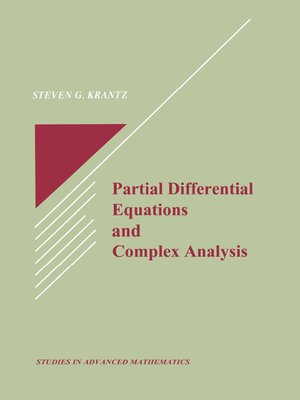 cover image of Partial Differential Equations and Complex Analysis