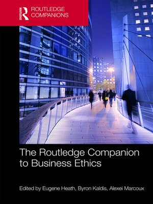 cover image of The Routledge Companion to Business Ethics