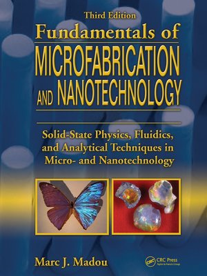 cover image of Fundamentals of Microfabrication and Nanotechnology, Three-Volume Set