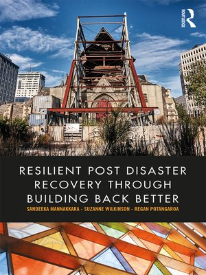 cover image of Resilient Post Disaster Recovery through Building Back Better