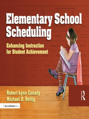 cover image of Elementary School Scheduling