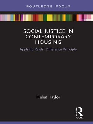 cover image of Social Justice in Contemporary Housing