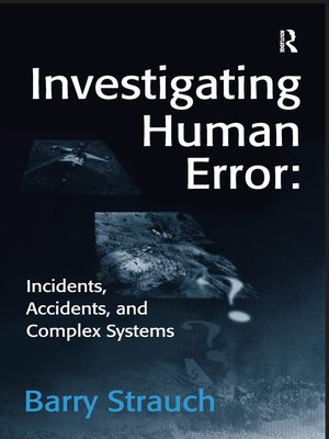 cover image of Investigating Human Error