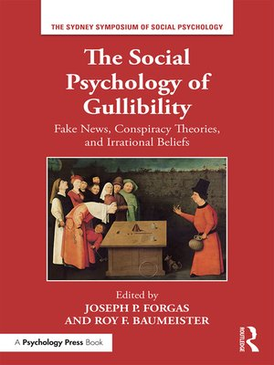 cover image of The Social Psychology of Gullibility