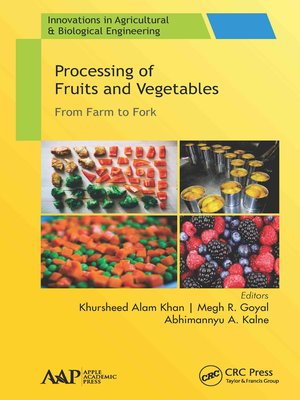 cover image of Processing of Fruits and Vegetables