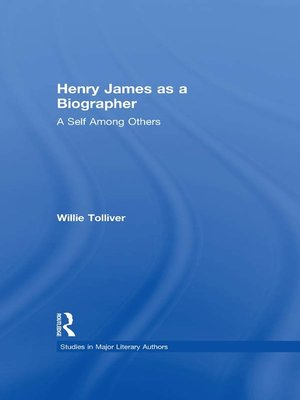 cover image of Henry James as a Biographer
