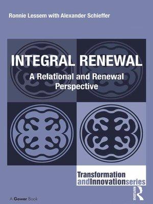 cover image of Integral Renewal