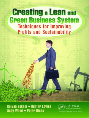 cover image of Creating a Lean and Green Business System