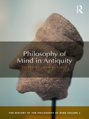 cover image of Philosophy of Mind in Antiquity
