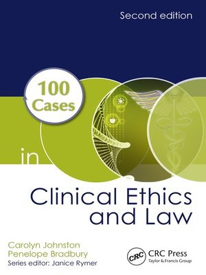 cover image of 100 Cases in Clinical Ethics and Law