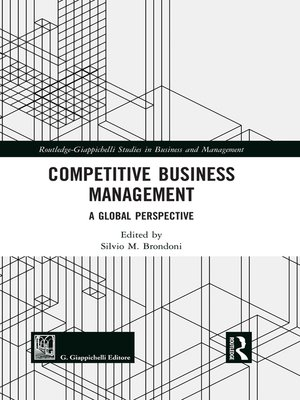 cover image of Competitive Business Management