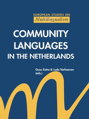 cover image of Community Languages in the Netherlands