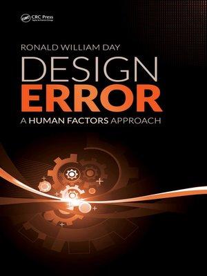 cover image of Design Error