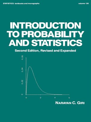 cover image of Introduction to Probability and Statistics