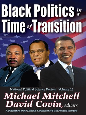 cover image of Black Politics in a Time of Transition