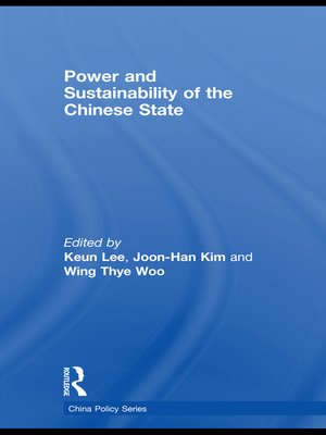 cover image of Power and Sustainability of the Chinese State