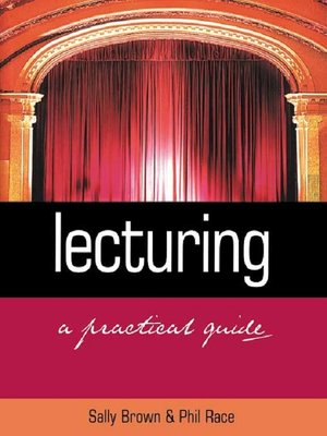 cover image of Lecturing
