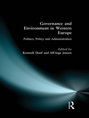 cover image of Governance and Environment in Western Europe